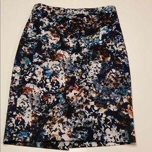 The Limited pencil skirt floral